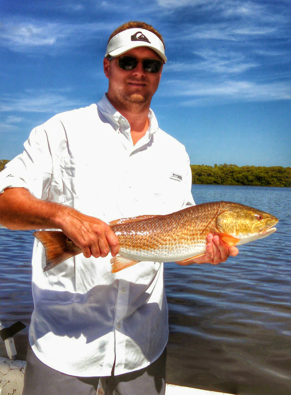 Redfish 2 captain aaron lowman for Anna maria island fishing