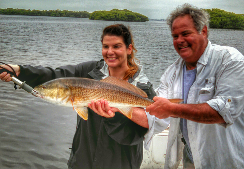Redfish4 captain aaron lowman for Anna maria island fishing