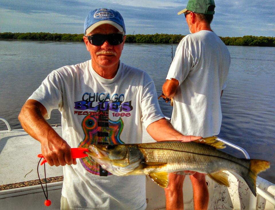 Snook 3 captain aaron lowman for Anna maria fishing report