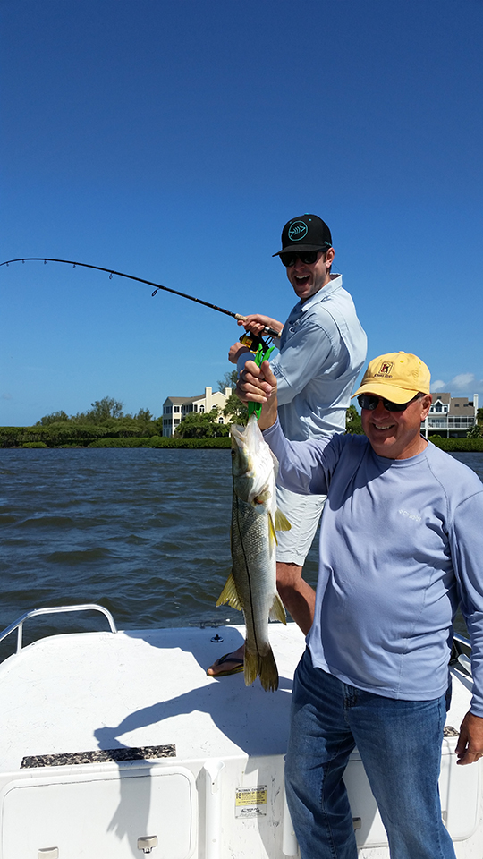 2 captain aaron lowman for Anna maria fishing report