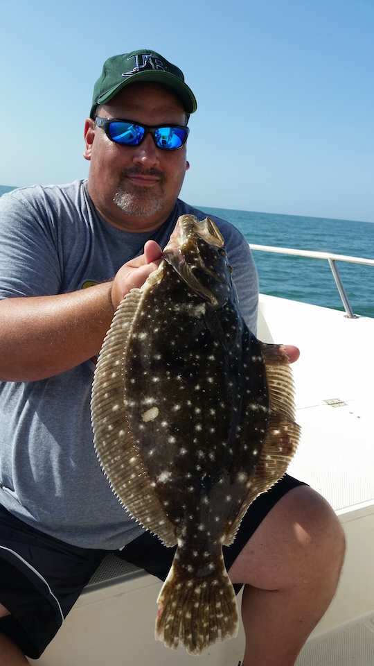 20150707 095124 captain aaron lowman for Anna maria fishing report