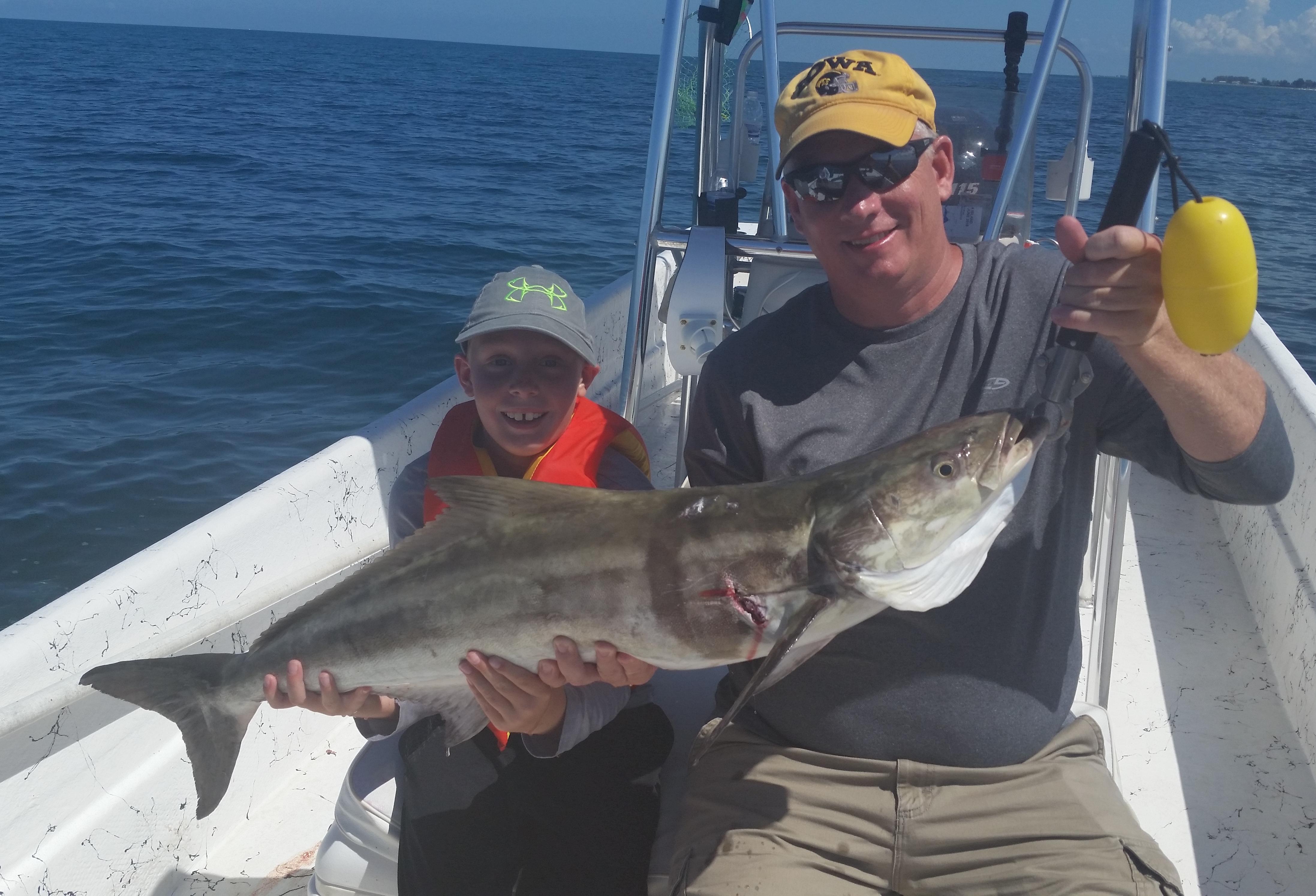 Fishing reports captain aaron lowman for Fishing anna maria island