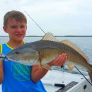 Anna Maria Island Redfish in August