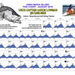 August 2019 Tide Chart For Anna Maria Island