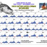 December 2019 Tide Chart For Anna Maria Island