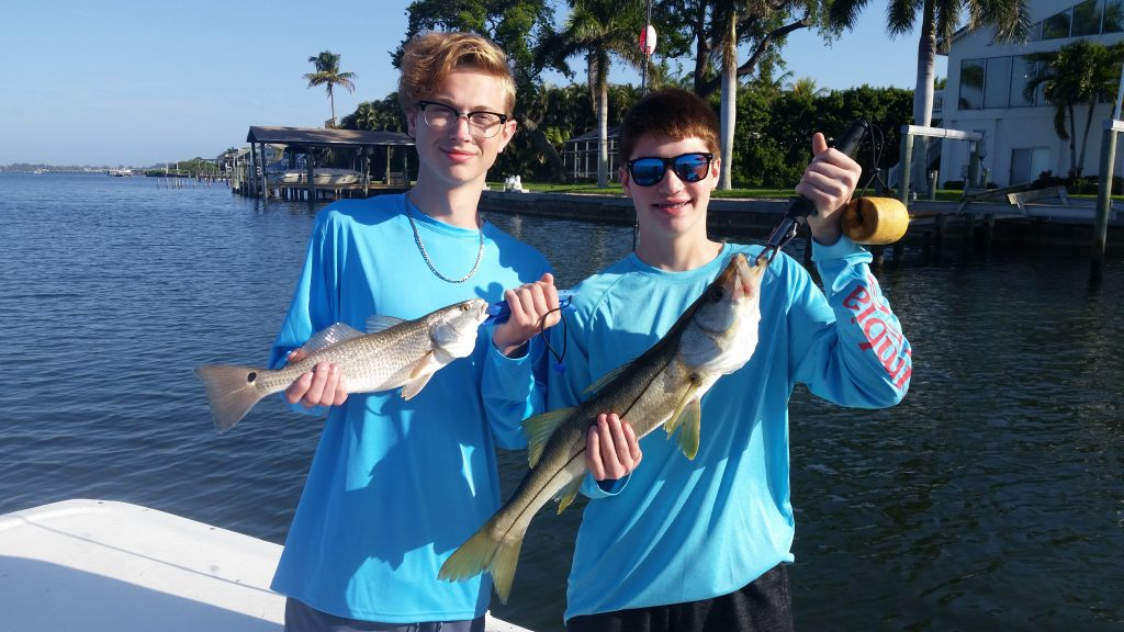 Snook and trout