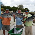 blackfin tuna trio captain aaron lowman