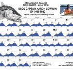 Anna Maria Island, FL Tide Chart July, 2018