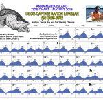 August 2019 Tide Chart For Anna Maria Island