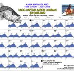 July 2019 Tide Chart For Anna Maria Island