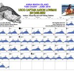 June 2019 Tide Chart For Anna Maria Island