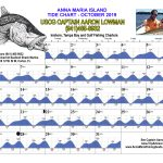 October 2019 Tide Chart For Anna Maria Island