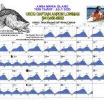 July 2020 Tide Chart for Anna Maria Island, Florida