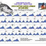 March 2020 Tide Chart for Anna Maria Island, Florida
