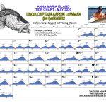May 2020 Tide Chart for Anna Maria Island, Florida