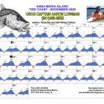 November 2020 Tide Chart for Anna Maria Island, Florida